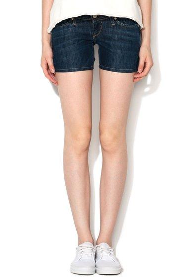 FashionDays.ro: Pantaloni scurti albastru inchis din denim Sarita Big Star