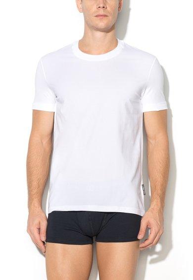 Dolce&Gabbana Tricou alb cu decolteu rotund