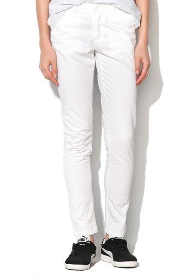 Eleven Paris Pantaloni conici albi Sequoia