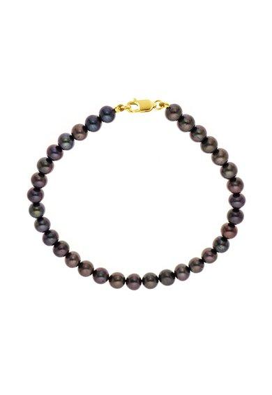 Perles Addict Bratara din perle negre