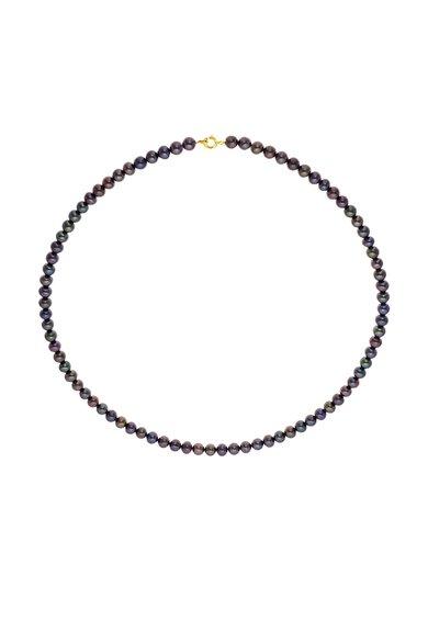 Colier din perle negre