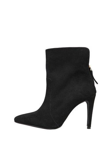FashionDays.ro: Botine negre din piele intoarsa cu toc stiletto Michelle Versace 1969 Abbigliamento Sportivo