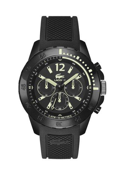 Ceas cronograf negru Fidji