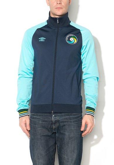 Umbro Bluza sport cu fermoar bleumarin cu albastru azur