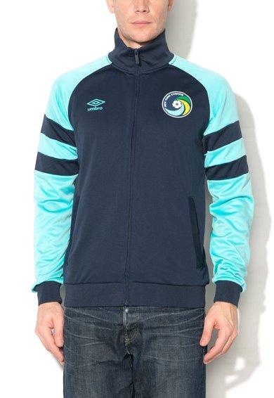 Umbro Bluza sport bleumarin cu albastru cu fermoar