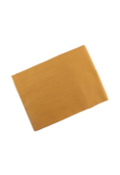 Leunelle Cearsaf de pat galben mustar inchis cu protectie antibacteriana