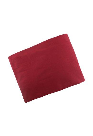 Cearsaf de pat rosu Bordeaux cu protectie antibacteriana de la Leunelle