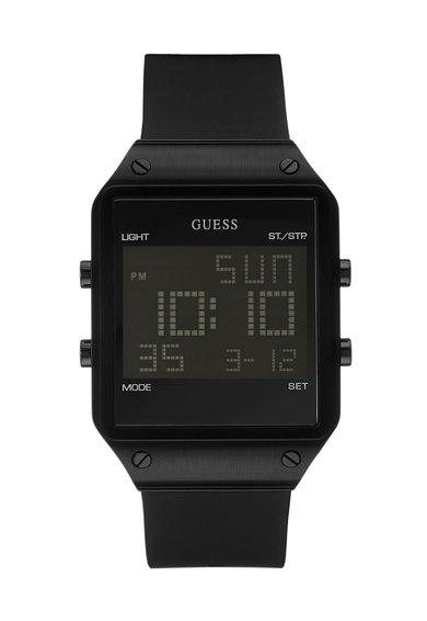 FashionDays.ro: Ceas cronograf digital negru Radar GUESS