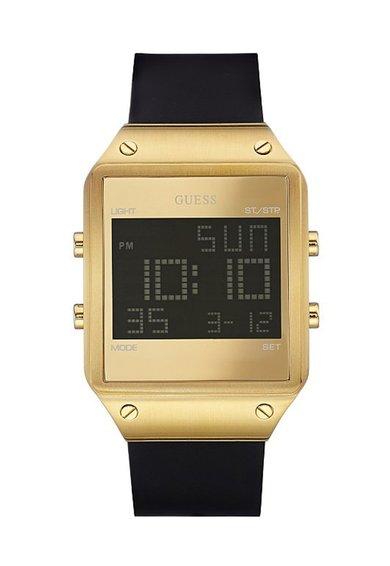 FashionDays.ro: Ceas cronograf negru cu auriu Radar GUESS