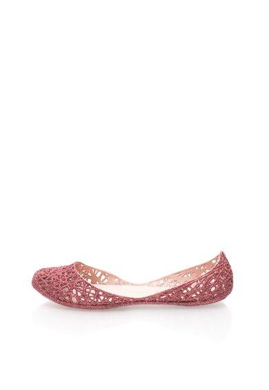 Melissa Balerini cauciucati roz stralucitor Zig Zag
