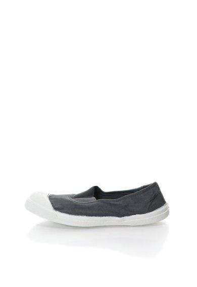 Pantofi slip-on gri de la Bensimon