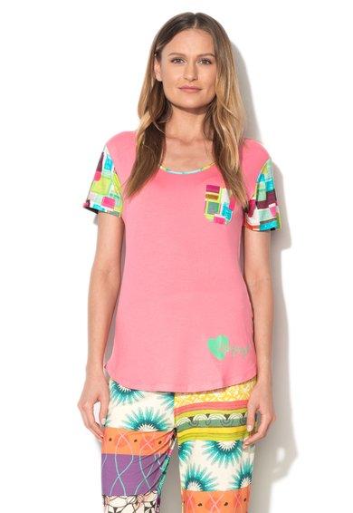 Desigual Tricou multicolor de casa Mojito