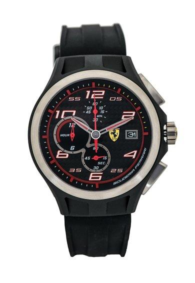 FashionDays.ro: Ceas cronograf negru Lap Time Ferrari