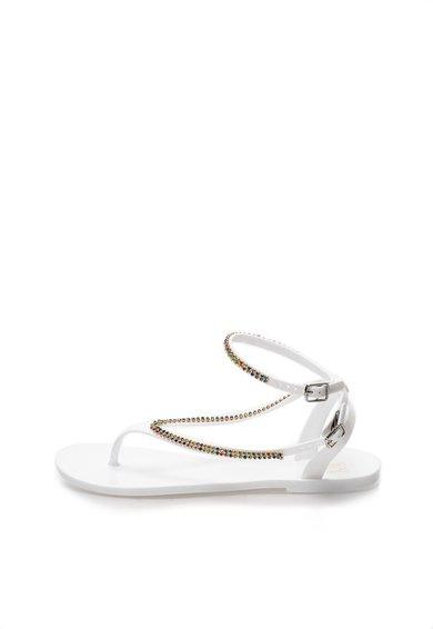 FashionDays.ro: Sandale flip-flop albe cauciucate Colors of California