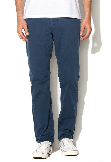 Mexx Pantaloni slim fit drepti albastru inchis