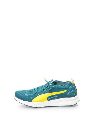 Pantofi sport verde inchis cu galben neon Ignite ProKnit Wn