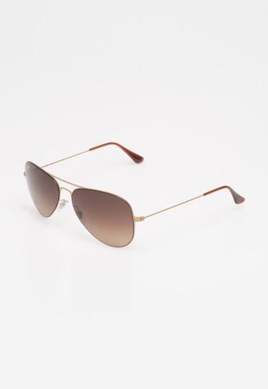 Ochelari de soare maro bronz Aviator de la Ray-Ban
