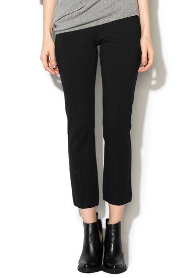 FashionDays.ro: Pantaloni crop negri Stefanel