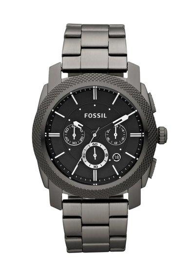 Fossil Ceas cronograf gri hematit Machine