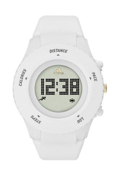 Ceas cronograf digital alb mat Sprung