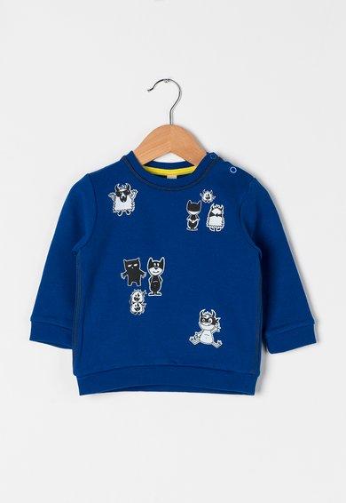 FashionDays.ro: Bluza sport albastru inchis cu desene ESPRIT