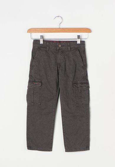 Napapijri Pantaloni cargo gri fier Moto