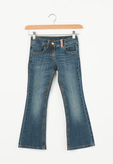 Jeansi albastri evazati de la United Colors Of Benetton