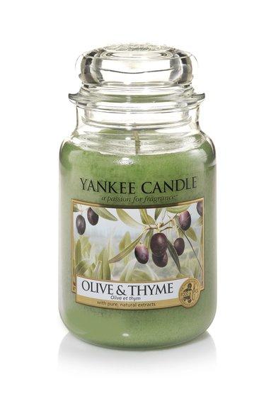 Yankee Candle Lumanare parfumata in borcan mare Olive&Tyme