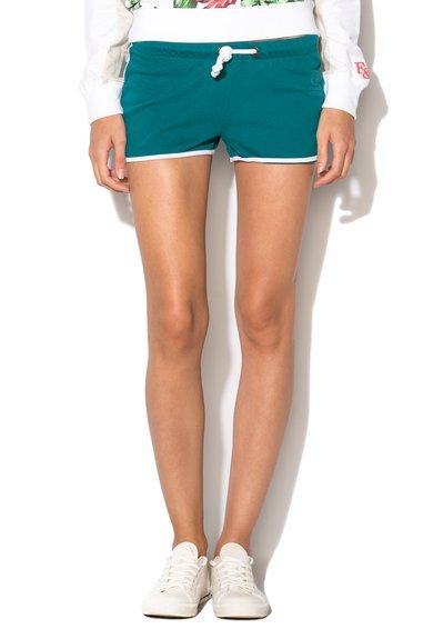 Pantaloni scurti regular fit verde smarald de la Franklin  Marshall