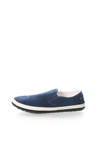 Pantofi slip-on albastri din piele intoarsa Ciity de la Diesel