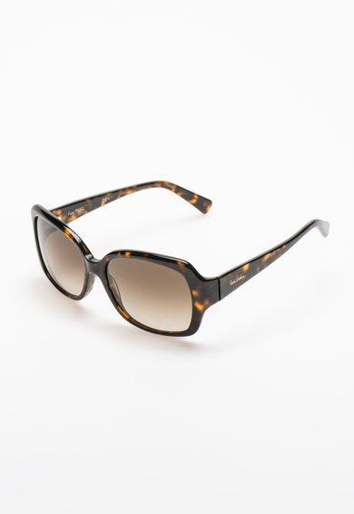 Ochelari de soare maro tortoise inchis patrati de la Pierre Cardin