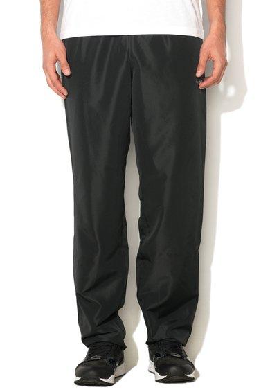 Reebok Pantaloni sport negri cu snur pentru ajustare
