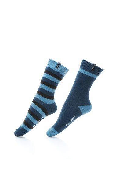 Set de sosete groase in nuante de albastru Lacy – 2 perechi de la Pepe Jeans London