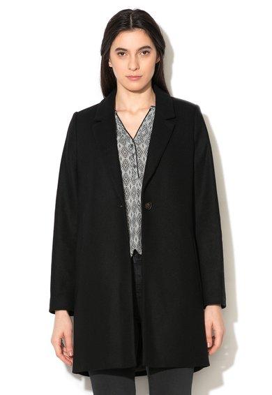 FashionDays.ro: Haina neagra din amestec de lana ESPRIT