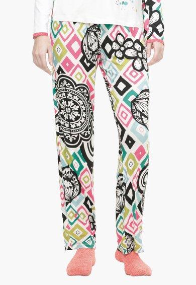 Desigual living Pantaloni de casa multicolori cu diverse imprimeuri
