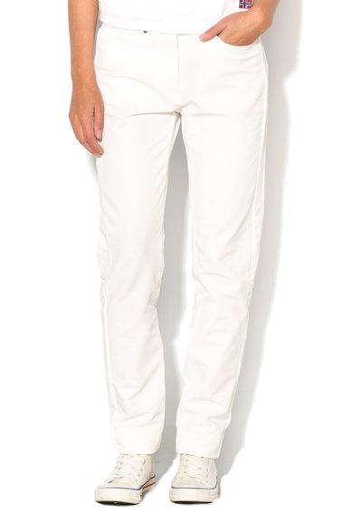 Pantaloni albi Nelezes de la Napapijri