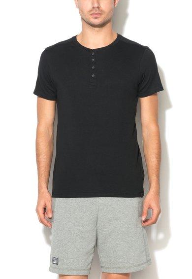Tricou negru cu striatii de la Big Star
