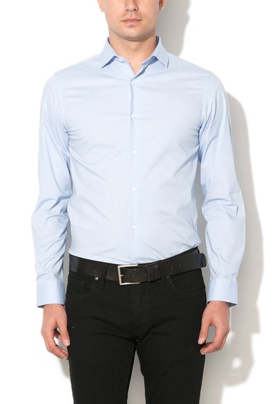 Camasa slim fit bleu Pisa