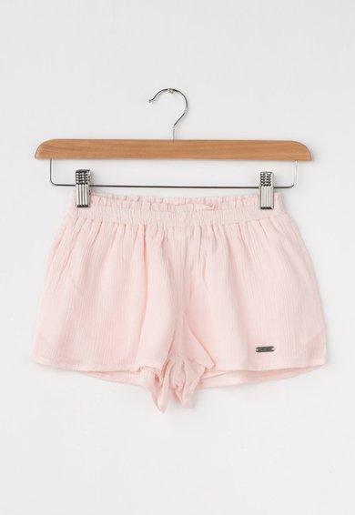 Pantaloni scurti roz deschis cu talie elastica Birdie de la Pepe Jeans London