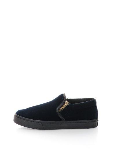 Pantofi slip-on bleumarin inchis catifelati Rolap de la Gioseppo