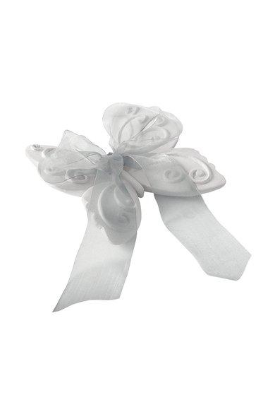 Decoratiune parfumata alba in forma de fluture Rose Elegante de la Mathilde M