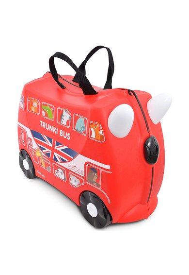 Geanta de voiaj ride-on rosie Boris The Bus de la Trunki