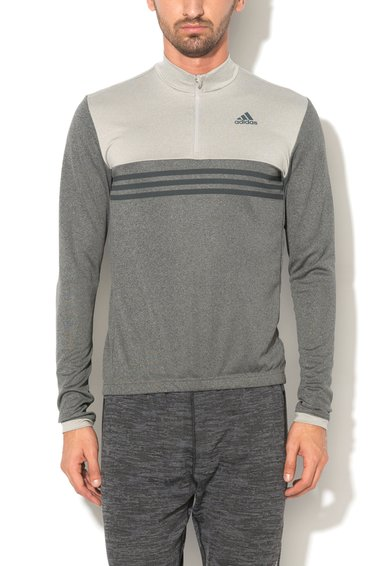 Bluza in doua nuante de gri pentru ciclism de la adidas