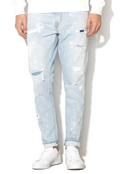 JackJones Jeansi anti fit bleu cu aspect deteriorat 728 Erik