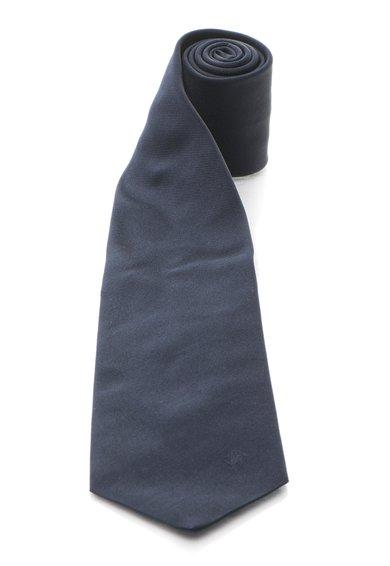 Cravata bleumarin inchis de matase de la Roberto Cavalli