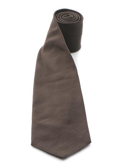 Cravata de matase maro cafea