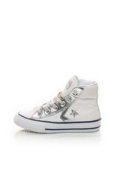 Tenisi mid-high albi Star Player de la Converse