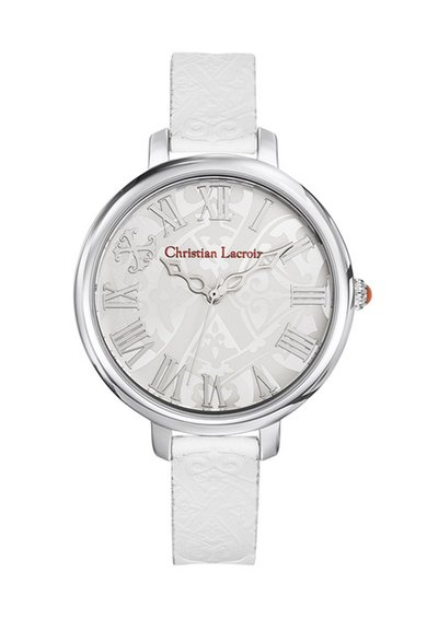 Christian Lacroix Ceas alb