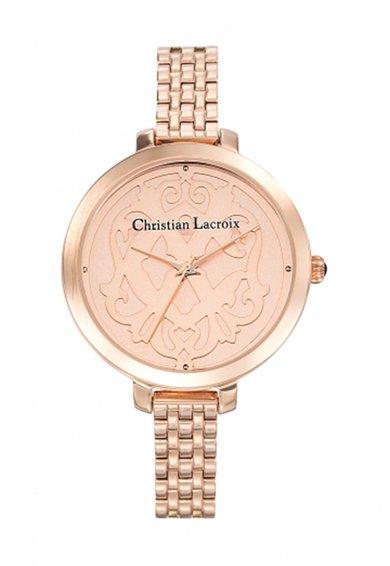 Christian Lacroix Ceas auriu rose
