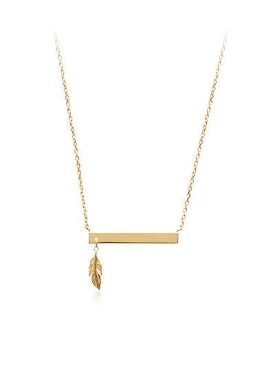 Colier placat cu aur de la LAtelier Parisien
